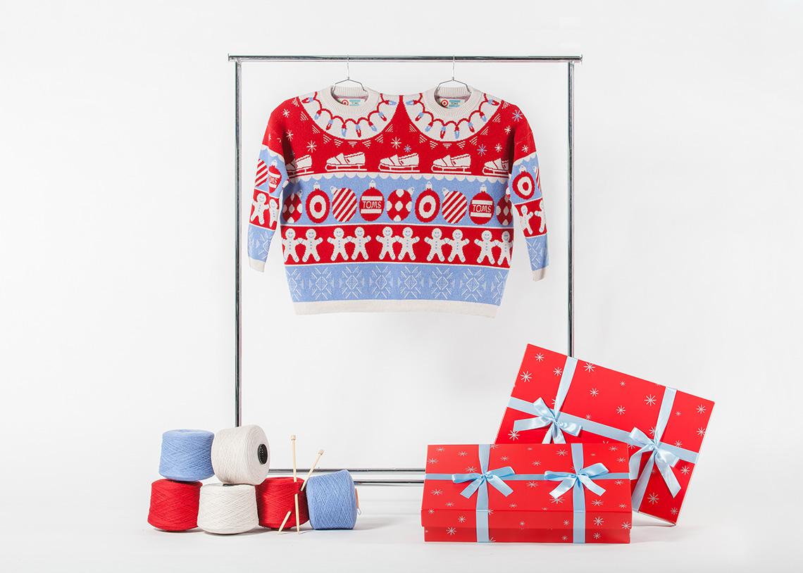 Target & TOMS Together Sweater